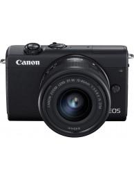 Aparat Foto Mirrorless Canon EOS M200, Negru cu Obiectiv 15-45Smm F3.5-6.3